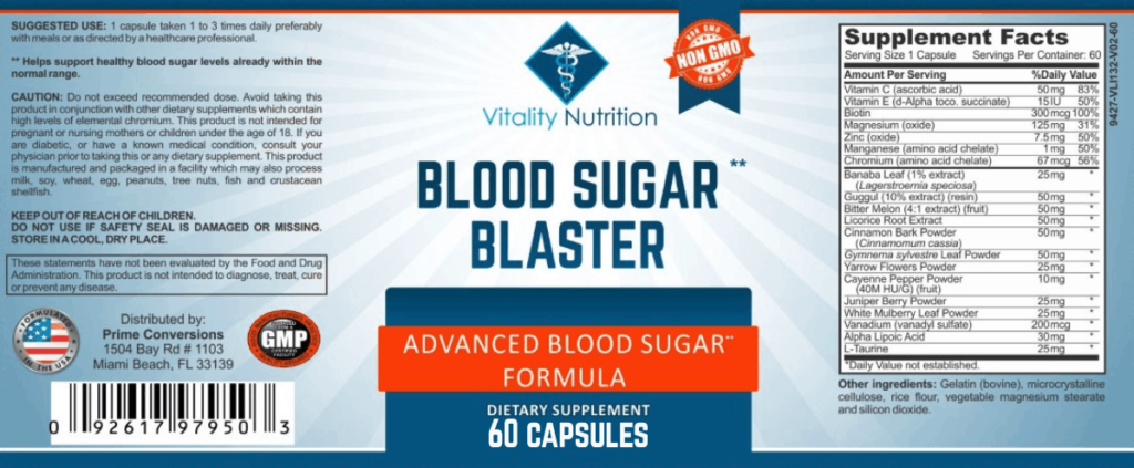 Blood sugar blaster review scam facts